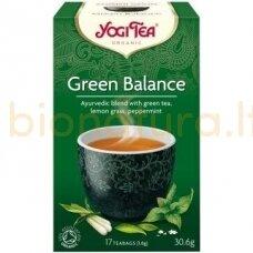 Ajurvedinė arbata GREEN BALANCE, ekologiška