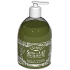 Alepo muilas skystas žalias su 15% lauramedžio aliejaus, 500 ml.