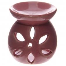 Aromatinė lempa keraminė maža, 7,5cm raudona