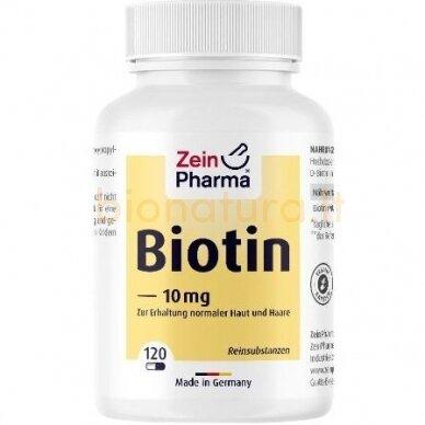 Biotinas. Maisto papildas, 120 kaps.