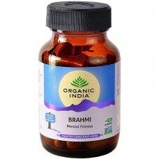 Brami (Gotu Kola) 60 kaps. Organic India ekologiškas