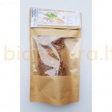Brandintų linų sėmenų duonelės su paprikomis, 120 gr.
