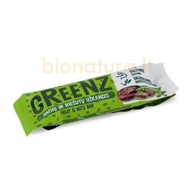 GREENZ užkandis su baltymais 1x30 g