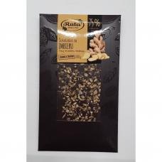 Juodasis šokoladas 75% su Imbieru. 100 g. Rūta