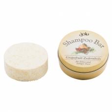 Kietas šampūnas Jolu, riebiems plaukams, Greipfrutas-kedras, 50 g