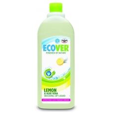 Natūralus indų ploviklis su citrinomis ir alavijais 950 ml. ECOV