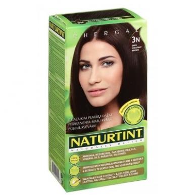 Naturtint plaukų dažai be amoniako, DARK CHESTNUT BROWN 3N (165