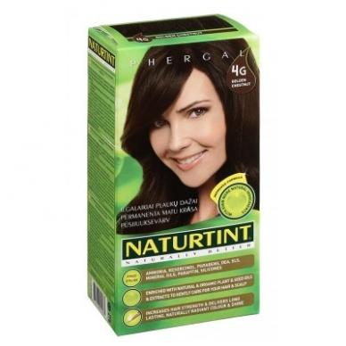 Naturtint plaukų dažai be amoniako, GOLDEN CHESTNUT 4G (165 ml)