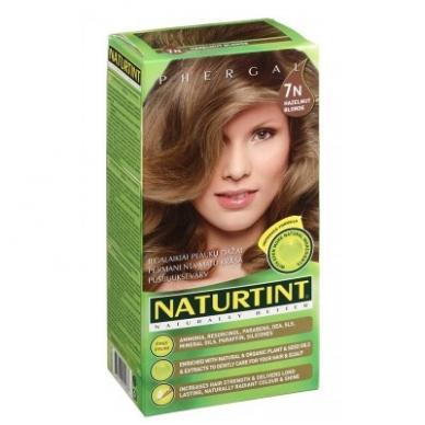 Naturtint plaukų dažai be amoniako, HAZELNUT BLONDE 7N (165 ml)