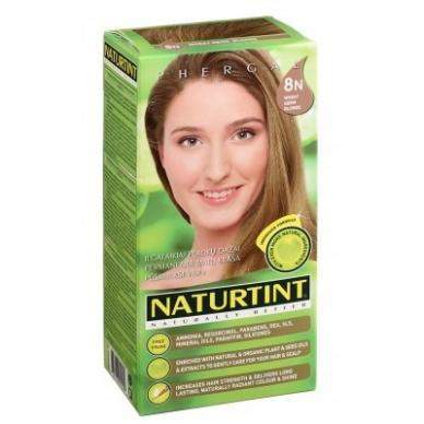 Naturtint plaukų dažai be amoniako, WHEAT GERM BLONDE 8N (165 ml