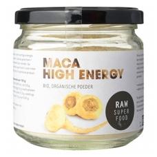 Peruvinės pipirnės (maca) milteliai, ekologiški (175 g), Raw Sup