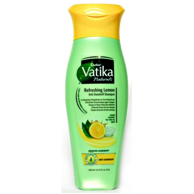Šampūnas nuo pleiskanų DABUR VATIKA, 200 ml