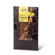 Šokoladas su žiedadulkėmis 1 x 100 g