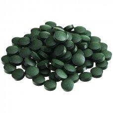 Spirulina (tabletės), ekologiška (200 g) Supernutrients