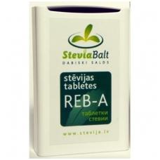 Steviolio glikozido pagrindu sudarytas saldiklis, tabletės 100ta