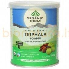 Trifala milteliais, ekologiška (100 g), Organic India