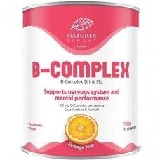 B vitaminų kompleksas, milteliai. Maisto papildas, 150 gr.
