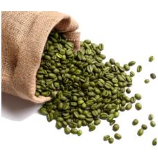 Žalia kava neskrudinta pupelės, 1 kg.